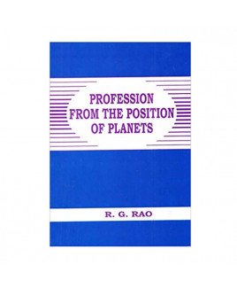 Profession from the Position of Planets In English By R. G. Rao -(BOAS-0866)