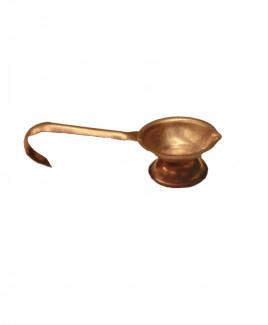 Copper Diya for Puja  - 16 gm (DIPD-006)