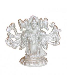 Parad Panchmukhi Hanuman Seated - 305 gm (PAHN-005)