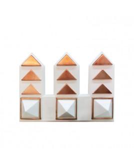 Pyra Riser Pyramid- (Set of 3) -(PVRI-001)