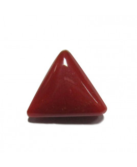 Red Coral Triangular - 5.05 Carat (RC-14)
