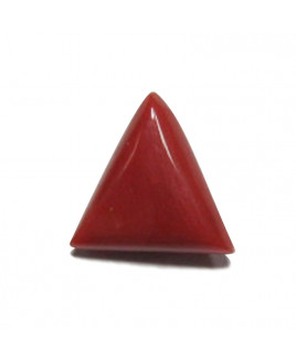 Red Coral Triangular - 4.50 Carat (RC-23)