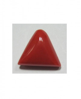 Red Coral Triangular - 4.50 Carat (RC-24)