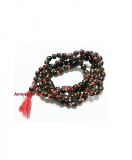Lal Chandan (Red Sandal Wood) Rosary / Mala - 08 mm (MARU-011)