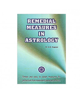 Remedial Measures in Astrology in English by Dr. G. S. Kapoor- (BOAS-0922)