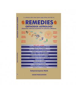 Remedies Orthodox Astrology By Satyanarayana Naik in English -(BOAS-1025)