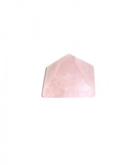 Rose Quartz Pyramid - 2.5 cm (PYRQ-001)
