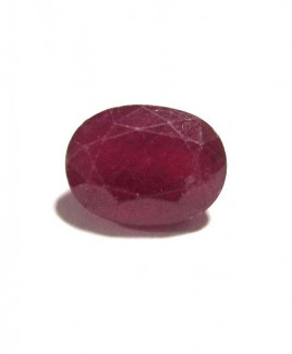 Natural Ruby Manikya -(Chuni) Oval Mix Gemstone - 7.20 Carat (RU-17)