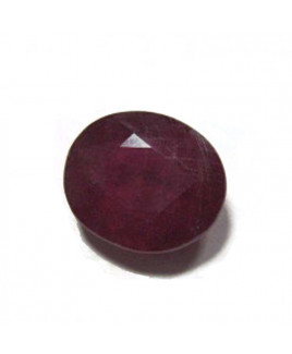 Natural Ruby Manikya - (Chuni) Oval Mix Gemstone- 4.95 Carat (RU-37)