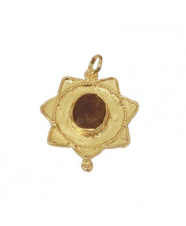 Ruby (Manikya) Star Shaped Pendant (PERU-001)