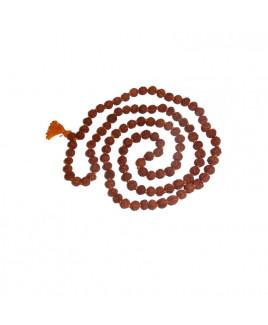 7 Mukhi (Seven Face) Rudraksha Rosary / Mala - 07 mm (MARU-009) -(JAVA)