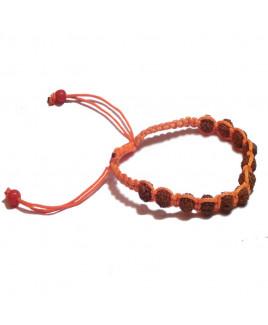 5 Mukhi Rudraksha Plain Bracelet (BRRU-002)- (NEPAL)
