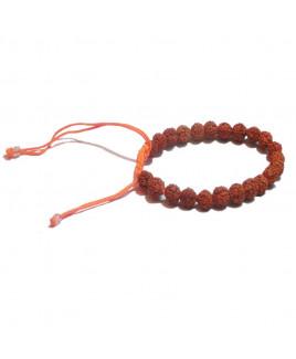 5 Mukhi Rudraksha Normal Bracelet Big(RUBR-001)- (NEPAL)