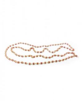 Rudrani Mala / Rosary with Golden Cap (MARD-002)