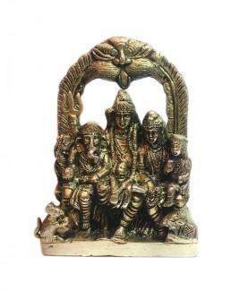 Shiv Parivar in Brass - 1140 gm (DISP-001)