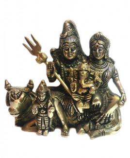 Shiv Parivar in Brass - 1730 gm (DISP-002)