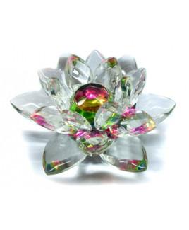 Crystal Lotus - 8 cm