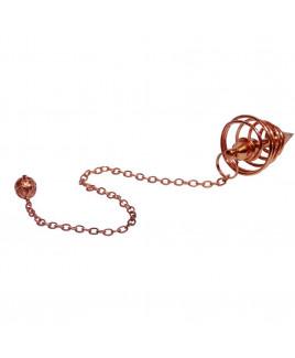 Spiral Dowsing Copper Pendulum (VTSD-001)