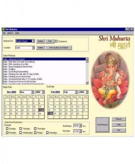 Shri Muhurta 1.3 (PLAS-011)