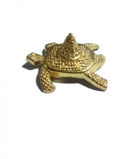 Sumeru Kachhap Sriyantra in Brass - 7 cm (SRSK-001)