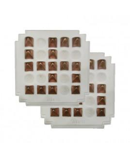 PyraVastu Swastik Mini -Copper Pyramid (Pair) - (PVSMC-001)