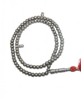 Parad (Mercury) Tasbeeh or Tasbih Mala / Rosary - 6 mm (MATA-003)