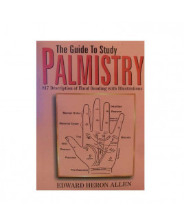 The Guide To Study Palmistry By Edward Heron Allen In English-(BOAS-1041)