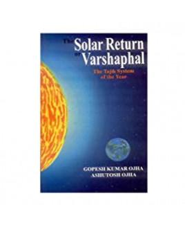 The Solar Return of  Varshphal in English - Paperback -(BOAS-0853)
