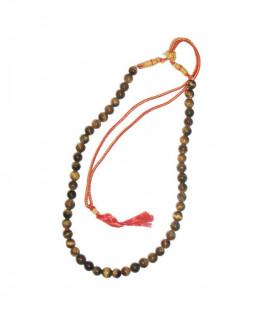 Tiger Eye Rosary / Mala - 09 mm (MATE-003)