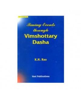 Timing Events Through Vimshottari Dasha by K N Rao (BOAS-0132)