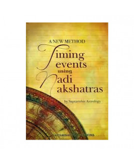 Timing Events Using Nadi Nakshatras In English By Saptarishi Astrology- (BOAS-0905)