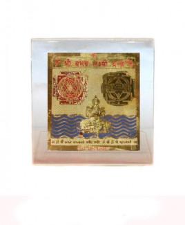 Vaibhav Lakshmi Yantra - 8 cm (YAVLW-003)