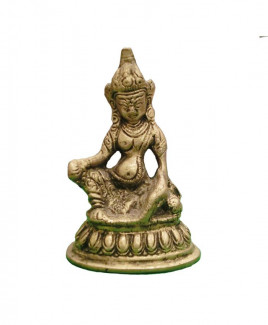 Brass Kuber Idol / Statue - 340 gm (VAKU-004)