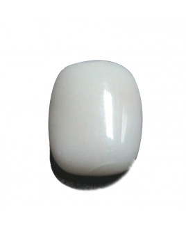 White Coral Cushion Cabochon Gemstone - 9.20 Carat (WC-32)