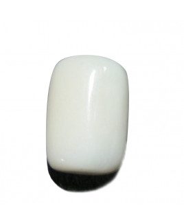 White Coral Cylindrical Gemstone- 9.60 Carat (WC-56)