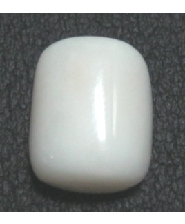 White Coral Oval Cabochon Gemstone- 10.35 Carat (WC-23)