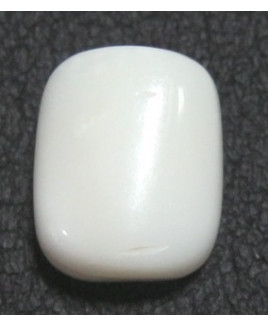 White Coral Cushion Cabochon Gemstone- 7.40 Carat (WC-26)