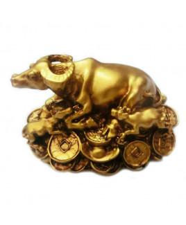 Wealth Cow (Wish fulfillment Cow) - 6 cm (FEWCO-002)