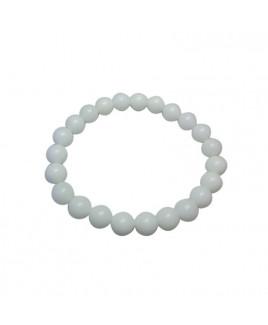 White Agate Bracelet (BRWA-001)