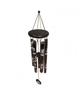 Metallic Wind Chime with Five Rods (FEMWC-003)