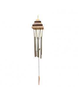 Pagoda Wind Chime with Six Rods (FEMWC-008)