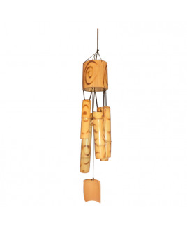 Wooden Wind Chime 5 Rods - 62 cm (FEWWC-003)