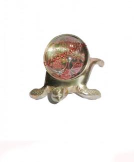 Shri Sampoorna Yantra on Tortoise (SRSYT-001)
