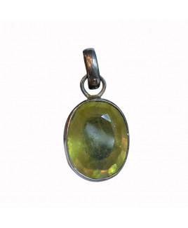 Yellow Sapphire Pendant -(YSP-003)