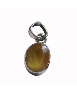 Yellow Sapphire Pendant -(YSP-006)