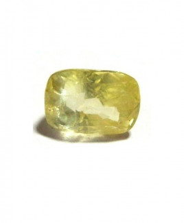 Yellow Sapphire (Pukhraj) Cushion Mix - 4.40 Carat (YS-16)