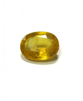 Yellow Sapphire (Pukhraj) Oval Mix - 6.35 Carat (YS-26)