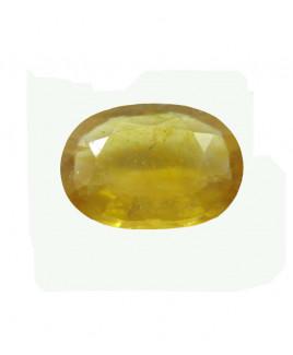 Yellow Sapphire (Pukhraj) Oval Mix Gemstone - 6.35 Carat (YS-62)