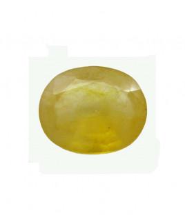 Yellow Sapphire (Pukhraj) Oval Mix Gemstone-  6.10 carat (YS-64)