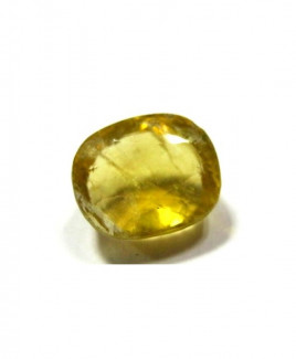 Yellow Topaz Oval Mix Gemstone - 6.75 Carat (YT-04)